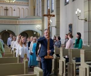 Iesvētības mūsu baznīcā