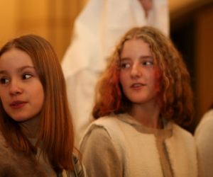 Ziemassvētku stāsts. Foto: M. Rudzītis. 2006.g.
