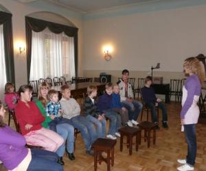 Pirmā nodarbība Pļaujas svētkos. 2010.