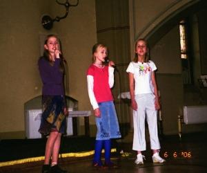 2006. gads. Jaunajai Sv. Ģertrūdes baznīcai - 100
