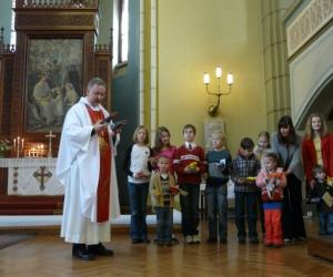 2012. gada Vasarsvētki. Svētdienas skolas noslēgums